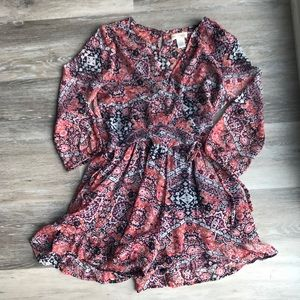 Band of Gypsies Boho Romper Size Small